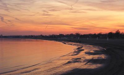 Coastal Sunset  II Art Print by Margie Avellino