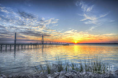 Photograph - Coastal Sunset View by Dale Powell