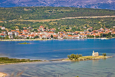Photograph - Coastal Town Of Posedarje Croatia by Brch Photography