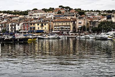 Coastal Town - South Of France Art Print by Georgia Fowler