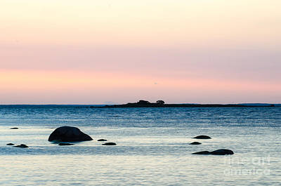 Coastal Twilight View Art Print by Kennerth and Birgitta Kullman