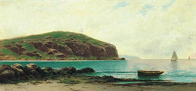 Painting - Coastal View by Alfred Thompson Bricher