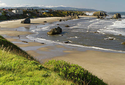 Sutton Photograph - Coastal Views, Bandon, Oregon by William Sutton