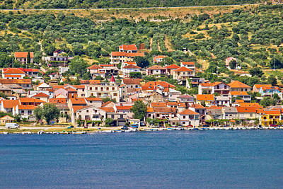 Photograph - Coastal Village Of Posedarje In Dalmatia by Brch Photography
