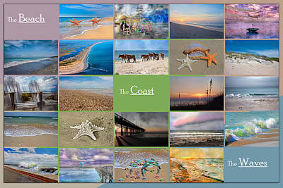 Coastal Winds Print by Betsy Knapp
