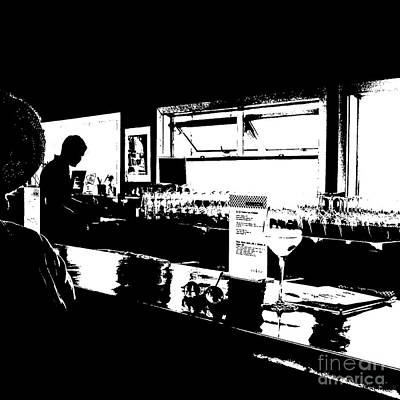 Photograph - Coastal Wine Bar by Connie Fox