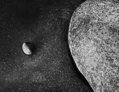 Contemplative Photograph - Coastal Zen by Joseph Smith
