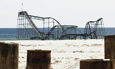 Photograph - Coaster Of My Childhood by Mary Haber