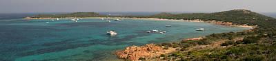 Coastline, Capo Coda Cavallo, Province Art Print