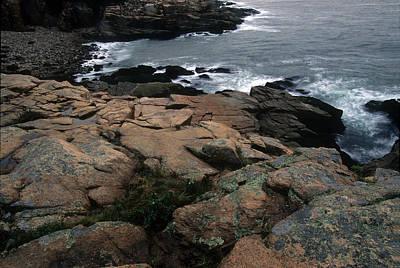Photograph - Coastline-lubec-maine by Harold E McCray