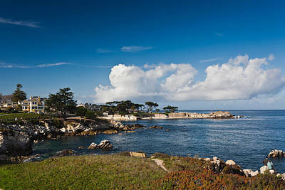 Coastline, Monterey Bay, Monterey Art Print by Panoramic Images