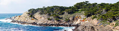 Point Lobos Photograph - Coastline, Point Lobos State Reserve by Panoramic Images