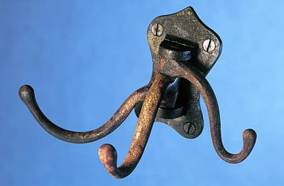 Coat Hanger Photograph - Coat Hanger From The Titanic by Science Photo Library