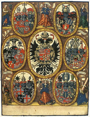 Justice Painting - Coats Of Arms by Granger
