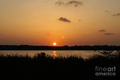 Photograph - Coba Lagoon Sunset Mexico by John  Mitchell