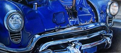 Cobalt Blue Art Print by Kathleen Bischoff