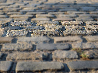 Photograph - Cobbled Street by Richard Reeve