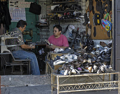 Photograph - Cobblers by Steven Ralser