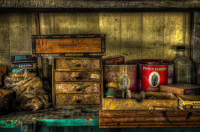 Shoe Repair Photograph - Cobblers Tobacco by David Morefield