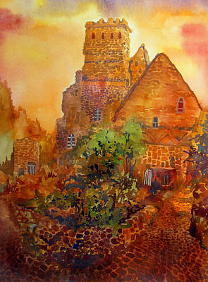 Wurttemberg Painting - Cobblestone Dawn by James Huntley