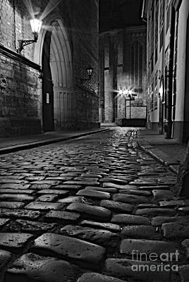 Photograph - Cobblestone by Steven Liveoak
