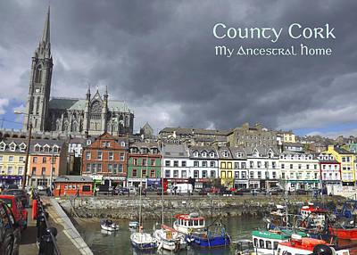 Cobh County Cork Art Print by Your Irish Heritage