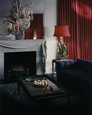 Coffee Table Photograph - Cobina Wright's Living Room by George Platt Lynes