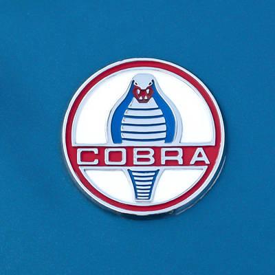 Cobra Photograph - Cobra Emblem by Jill Reger