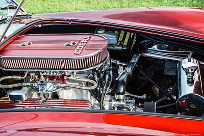 Photograph - Cobra Engine by Teresa Blanton
