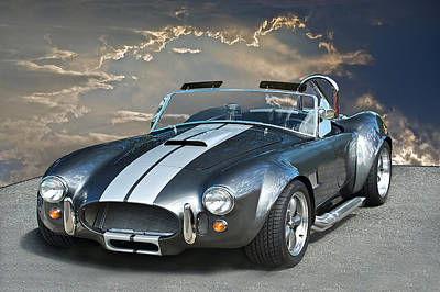 Cobra In The Clouds Art Print by Dave Koontz