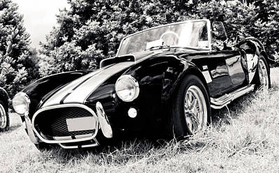 Cobra Sports Car Art Print by Phil 'motography' Clark