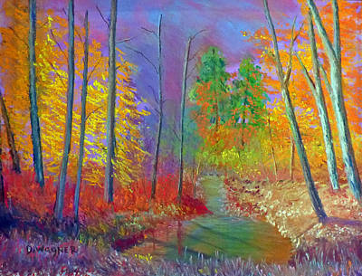 Pastel - Coburn Fall by Denise Wagner