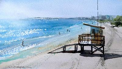 Painting - Coca Beach by Sandra Strohschein