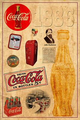 Photograph - Coca Cola by Andrew Fare
