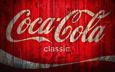 Faded Photograph - Coca Cola Barn by Dan Sproul