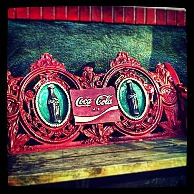 New Orleans Photograph - Coca-cola Bench New Orleans by Glen Abbott