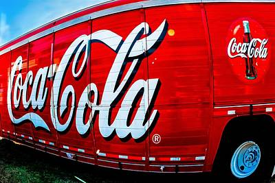 Photograph - Coca Cola Busting Out by Robert L Jackson