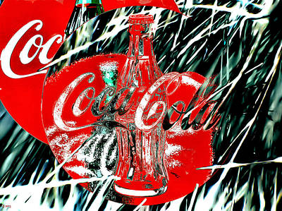 Coca Cola Sign Painting - Coca-cola by Daniel Janda