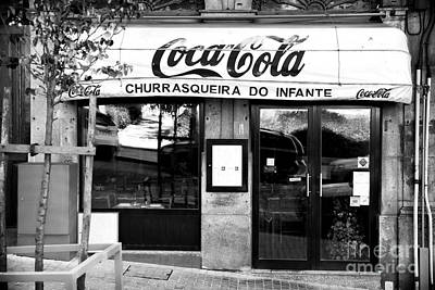 Coca-cola Signs Photograph - Coca Cola In Portugal by John Rizzuto