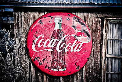 Photograph - Coca Cola by Merrick Imagery