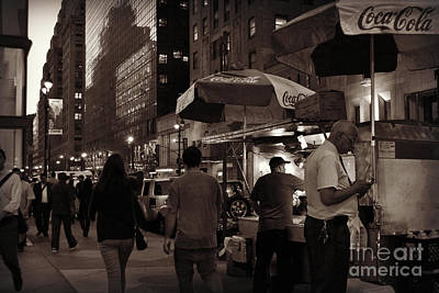 Photograph - Coca - Cola - New York City At Night by Miriam Danar
