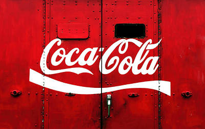 Photograph - Coca-cola On Rear Of Truck by Gary Slawsky