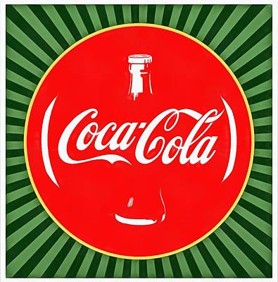 Coca Cola Pop Art  Art Print by Dan Sproul
