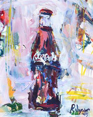 Painting - Coca-cola Print by Robert Joyner