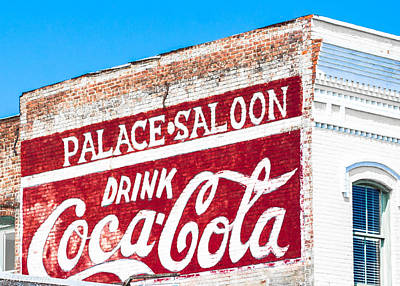 Photograph - Coca - Cola by Shannon Harrington