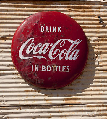 Coca Cola Sign   #0636 Art Print