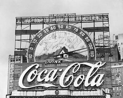 Coca-cola Sign Photograph - Coca Cola Sign by MMG Archives