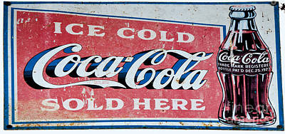 Photograph - Coca-cola Sign by Paul Mashburn