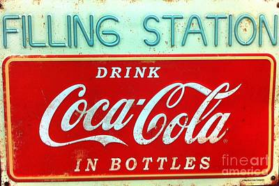 Photograph - Coca-cola Sign by Saundra Myles