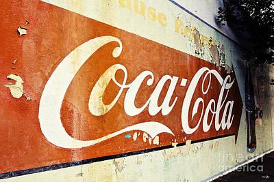 Coca Cola Sign  Print by Scott Pellegrin